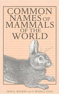 Common Names of Mammals of the World (Paperback)