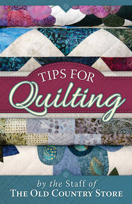 Tips for Quilting (Paperback)