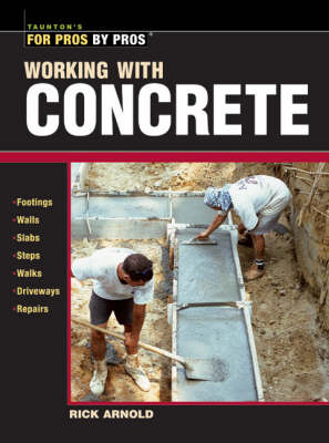 Working with Concrete (Paperback)