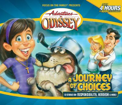 A Journey of Choices - Adventures in Odyssey Audio 20 (CD-Audio)