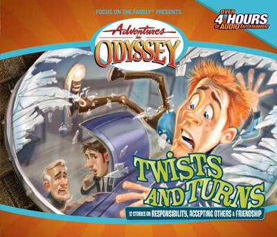Twists and Turns - Adventures in Odyssey Audio 23 (CD-Audio)