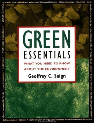 Green Essentials: What You Need to Know About the Environment (Paperback)