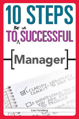 10 Steps to be a Successful Manager (Paperback)