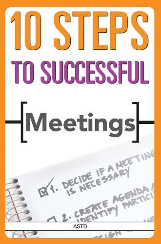 10 Steps to Successful Meetings (Paperback)