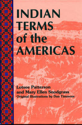 Indian Terms of the Americas (Hardback)