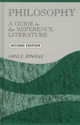 Philosophy: A Guide to Reference Literature - Reference Sources in the Humanities (Paperback)