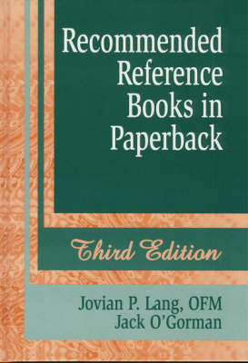 Recommended Reference Books in Paperback (Hardback)