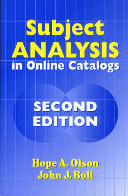Subject Analysis in Online Catalogs, 2nd Edition (Paperback)