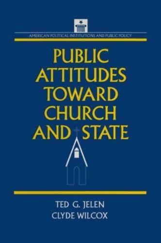 Public Attitudes Toward Church and State (Paperback)