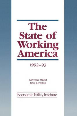 The State of Working America: 1992-93 (Paperback)