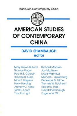 American Studies of Contemporary China (Paperback)