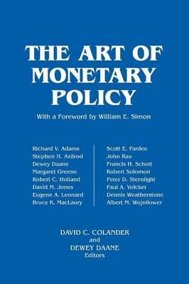 The Art of Monetary Policy (Paperback)