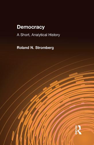Democracy: A Short, Analytical History: A Short, Analytical History (Hardback)
