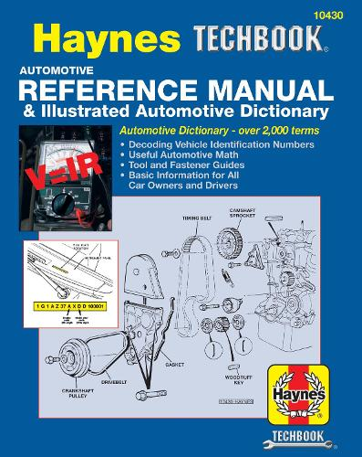 Automotive Reference Manual & Illustrated Automotive Dictionary (Paperback)