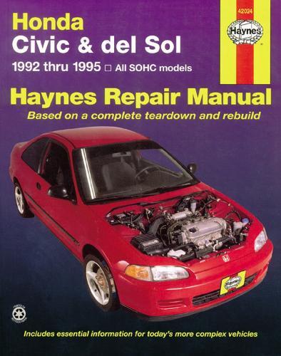 Honda Civic And Del Sol (92 - 95) (Paperback)