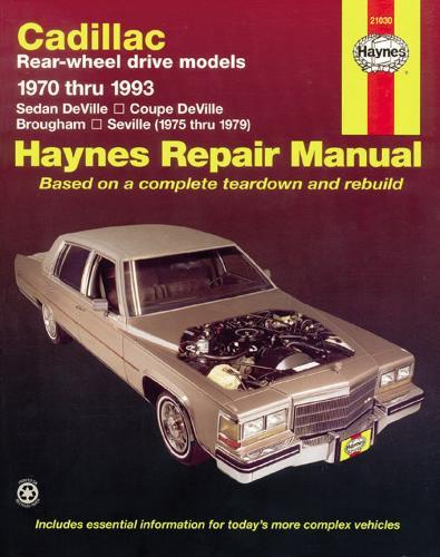 Cadillac Rear-Wheel Drive (70 - 93) (Paperback)