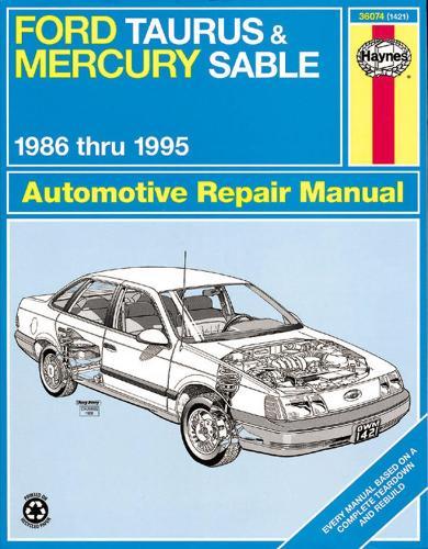 Ford Taurus & Mercury Sable (86 - 95) (Paperback)