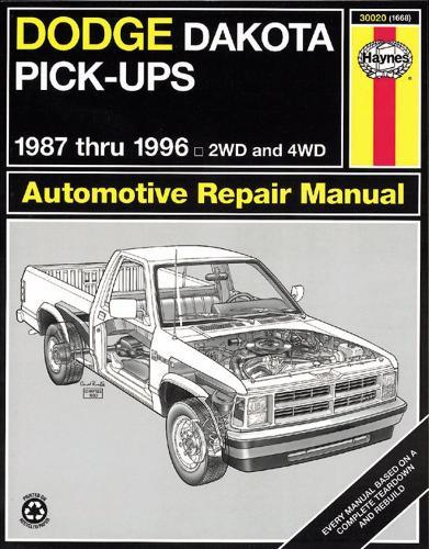 Dodge Dakota Pick-Ups (87 - 96) (Paperback)