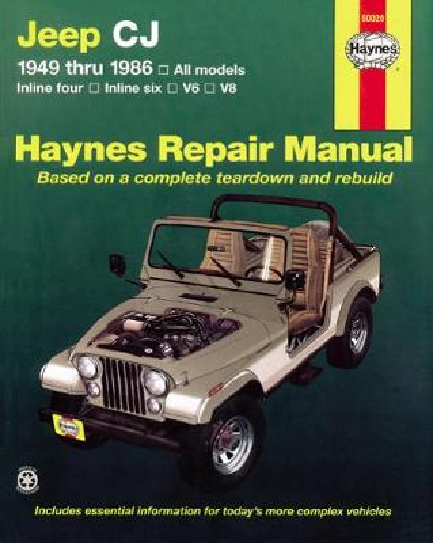 Jeep Cj (49 - 86) (Hardback)