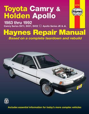 Toyota Camry & Holden Apollo (83 - 92) (Paperback)