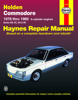 Holden Commodore (78 - 85) (Paperback)