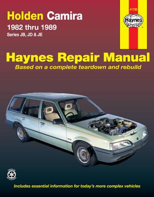 Holden Camira Australian Automotive Repair Manual 1982-1989 - Haynes Automotive Repair Manuals (Paperback)
