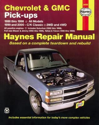 Chevrolet & GMC Pick-Ups, 2Wd & 4Wd (88 - 00) (Paperback)