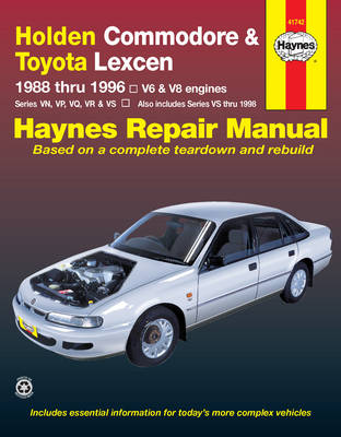 Holden Commodore & Toyota Lexcen (88 - 96) (Paperback)
