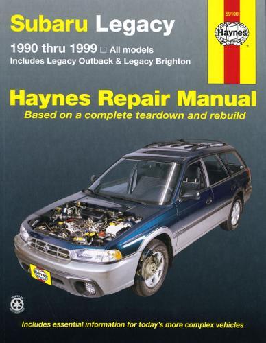 Subaru Legacy 1990-99 (Paperback)