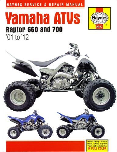 Yamaha Raptor 660 & 700 ATVs (01 - 12) (Hardback)