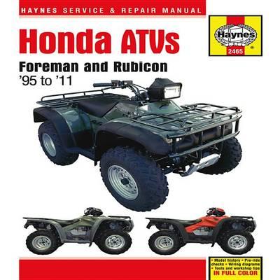 Honda Foreman ATV Automotive Repair Manual: 1995-2011 - Haynes Automotive Repair Manuals (Paperback)