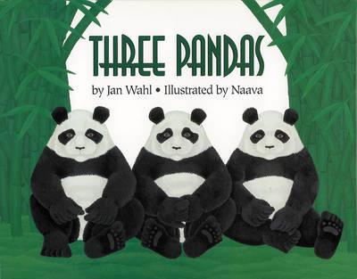 Three Pandas (Hardback)