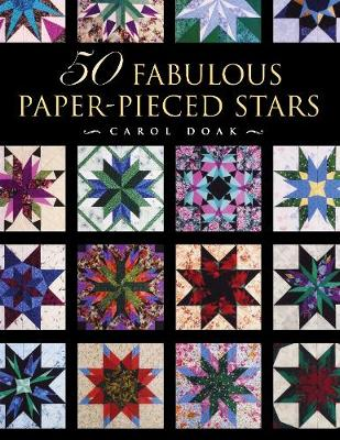 50 Fabulous Paper-Pieced Stars: With Free CD (Paperback)