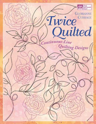 Twice Quilted: Continuous-Line Quilting Designs (Paperback)