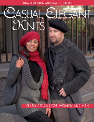 Casual, Elegant Knits: Classy Designs for Women and Men (Paperback)
