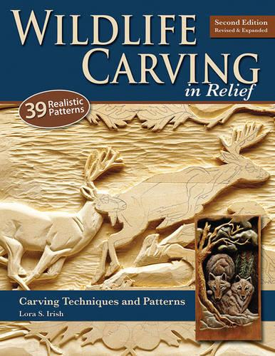 Wildlife Carving in Relief, 2nd Edn Rev and Exp (Paperback)