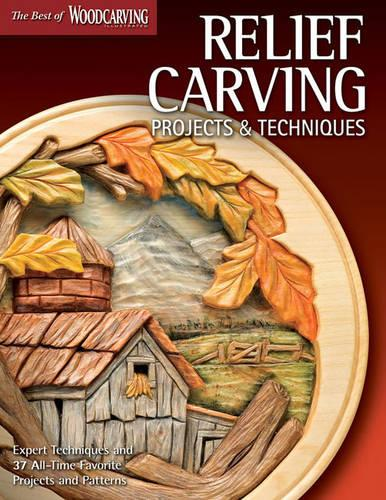 Relief Carving Projects & Techniques (Best of WCI) (Paperback)