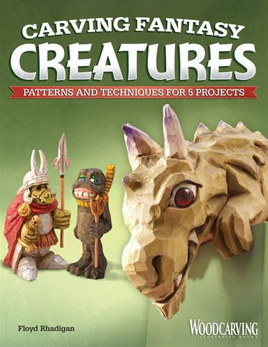 Carving Fantasy Creatures (Paperback)