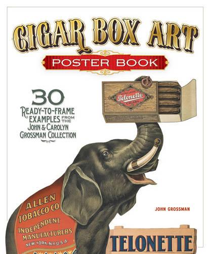 Cigar Box Art Poster Book (Paperback)
