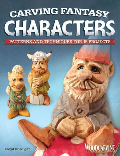 Carving Fantasy Characters (Paperback)