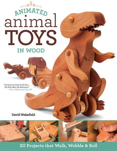 Animated Animal Toys in Wood (Paperback)
