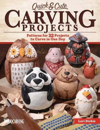 Quick & Cute Carving Projects (Paperback)