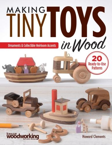 Making Tiny Toys in Wood (Paperback)