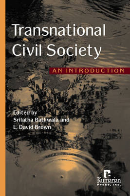 Transnational Civil Society: An Introduction (Paperback)