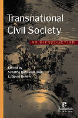 Transnational Civil Society: An Introduction (Hardback)