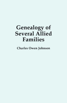 Genealogy of Several Allied Families (Paperback)