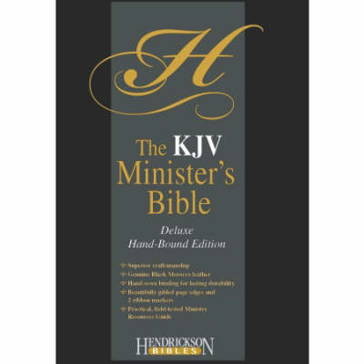 Bible: KJV Minister's Edition (Leather / fine binding)