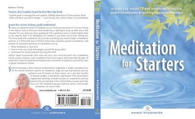 Meditation for Starters: Book & CD Set (Paperback)