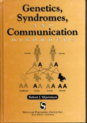 Genetics, Syndromes and Communication Disorder (Hardback)