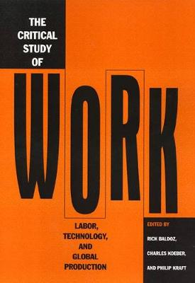 Critical Study Of Work (Paperback)